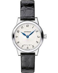Montblanc - 111206 Women's Bohème Date Alligator Strap Watch - Lyst