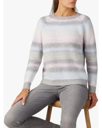 Pure Collection - Fair Isle Jumper - Lyst
