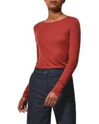 Toast - Long Sleeve Fine Wool Top - Lyst