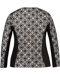 John Lewis - Chesca Lace Trim Ottoman Jersey Jacket - Lyst