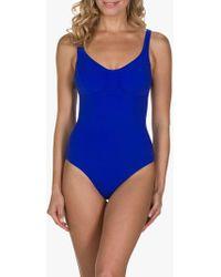 b0c39adcd13 John Lewis and Partners. Speedo - Sculpture Aquagem Swimsuit - Lyst
