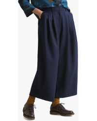 Toast - Washed Wool Pleated Trousers - Lyst