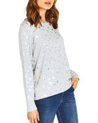 Oasis - Hummingbird Foil Sweatshirt - Lyst