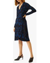 Jigsaw - Ginkgo Print Dress - Lyst