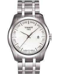 Tissot - T0354101105100 Men's Couturier Date Bracelet Strap Watch - Lyst