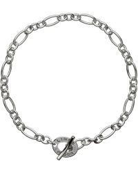 Links of London - Xs Sterling Silver Chain Charm Bracelet - Lyst