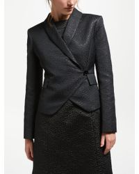Bruce By Bruce Oldfield - Jacquard Wrap Jacket - Lyst