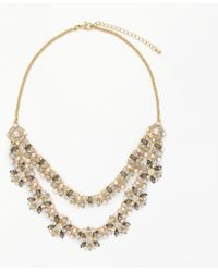 John Lewis - Double Layer Floral Necklace - Lyst