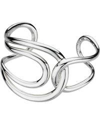 Kit Heath - Sterling Silver Infinity Cuff - Lyst