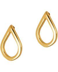 Matthew Calvin - Mini Point Stud Earrings - Lyst