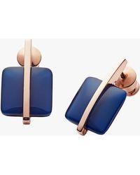 Skagen - Seaglass Drop Earrings - Lyst