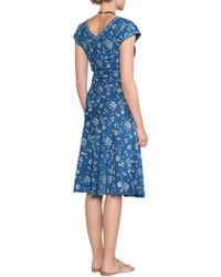 East - Neelam Print Dress - Lyst