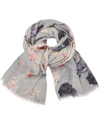 Modern Rarity - Trade Wings Bloom Floral Scarf - Lyst