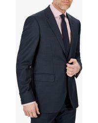 30366ac56 John Lewis and Partners · Jaeger - Sharkskin Wool Regular Fit Suit Jacket -  Lyst