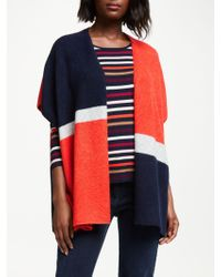 Gerry Weber - Colour Block Poncho - Lyst