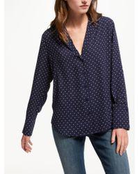 NYDJ - Arabesque Print Shirt - Lyst