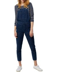 White Stuff - Carpenter Boyfriend Dungarees - Lyst