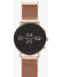 Skagen - Men's Falster Mesh Bracelet Strap Smartwatch - Lyst