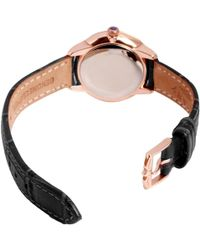 John Lewis - Rotary Ls02919/41 Women's Elise Leather Strap Watch - Lyst