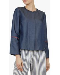 c552c97d88afc3 Ted Baker - Colour By Numbers Bazia Cotton Shirt - Lyst