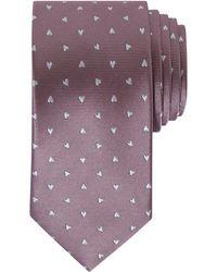 Ted Baker - Fedae Heart Print Silk Tie - Lyst