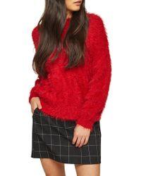 Miss Selfridge - Check Pelmet Skirt - Lyst