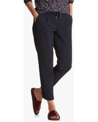 Betty Barclay - Sporty Split Hem Detail Crepe Trousers - Lyst