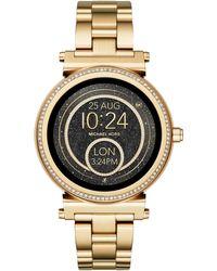 Michael Kors - Access Women's Sofie Bracelet Strap Touchscreen Smartwatch - Lyst