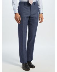 John Lewis - Semi Plain Tailored Suit Trousers - Lyst