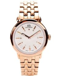 88 Rue Du Rhone - 87wa120013 Women's Diamond Set Dial Bracelet Strap Watch - Lyst