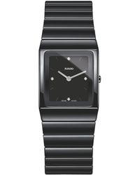 Rado - R21702702 Women's Diamond Ceramic Bracelet Strap Watch - Lyst