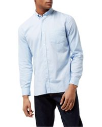 Jaeger - Soft Touch Oxford Shirt - Lyst
