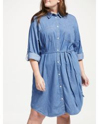 Levi's - Plus Bebe Denim Dress - Lyst