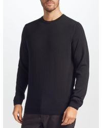 John Lewis - Made In Italy Merino Wool Crew Neck Jumper - Lyst