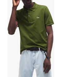 d280d4c0 John Lewis and Partners · Lacoste - Classic Slim Fit Short Sleeve Polo Shirt  - Lyst