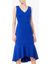 Adrianna Papell - Fluted Sheath Dress - Lyst