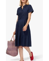 Brora - Linen Tennis Dress - Lyst