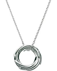 Kit Heath - Sterling Silver Nest Pendant Necklace - Lyst
