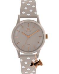 Radley - Women's Watch It Spotted Leather Strap Watch - Lyst