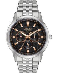 Citizen - Bu2070-55e Men's Corso Single Chronograph Bracelet Strap Watch - Lyst