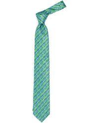 John Lewis - Micro Square Print Woven Silk Tie - Lyst