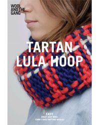 Wool And The Gang - Tartan Lula Hoop Scarf Knitting Pattern - Lyst