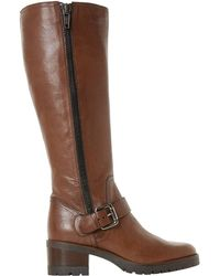 Dune - Tilburry Knee High Boots - Lyst
