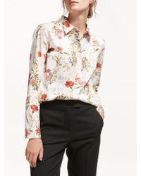 Marella - Cherry Floral Print Shirt - Lyst