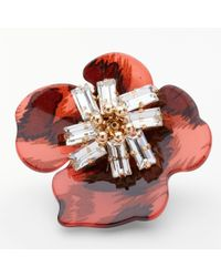 John Lewis - Statement Floral Brooch - Lyst