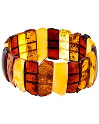 John Lewis - Be-jewelled Amber Stretch Cuff - Lyst