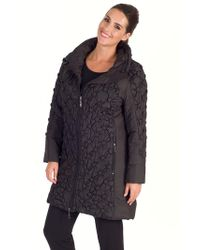 John Lewis - Chesca Button Quilted Coat - Lyst