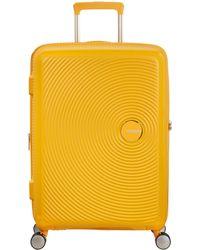 American Tourister - Soundbox 4-spinner Wheel 67cm Medium Suitcase - Lyst