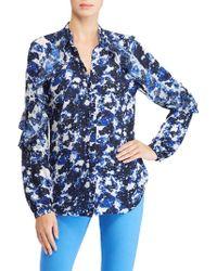 Ralph Lauren - Floral Georgette Shirt - Lyst
