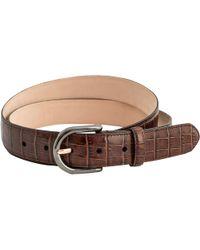 Thomas Pink - Mock Croc Leather Belt - Lyst